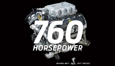 2020 ford mustang shelby gt500 engine 1 384x220 - موستانگ شلبی GT500 مدل 2020 با 760 اسب بخار